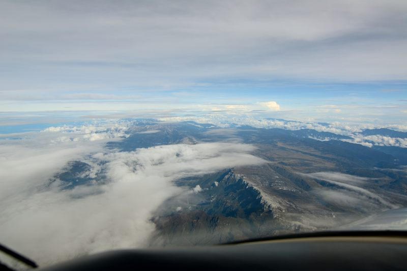 091113 20000 ft mountains across Papua