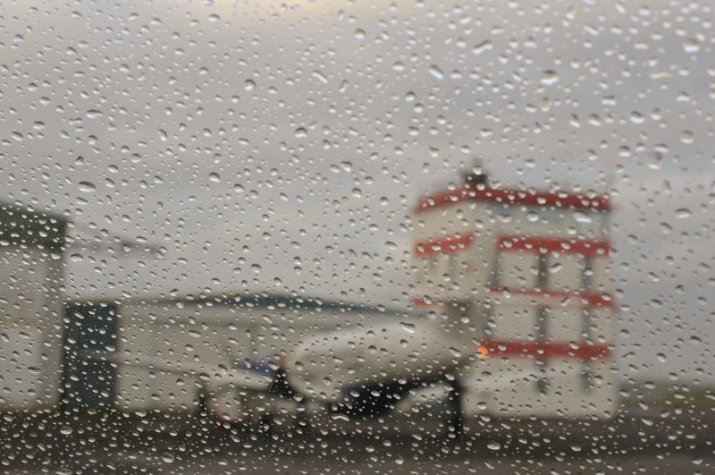 082713 Rainy departure from Reykjavik